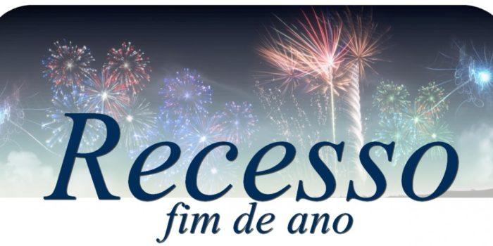 Recesso De FIM De ANO!